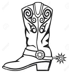 236x250 Cowboy Boots And Cowboy Hat Drawing Hd Shoe Clip Art Homemade