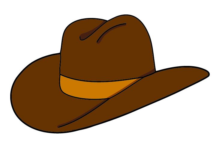 720x504 Cowboy Hat Clip Art