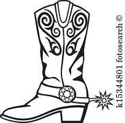 183x179 Cowboy Boots Clip Art Vector Graphics. 1,917 Cowboy Boots Eps