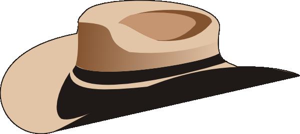 600x269 Cowboy Hat Clip Art