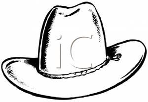 300x208 Cowboy Hat Clipart Picture