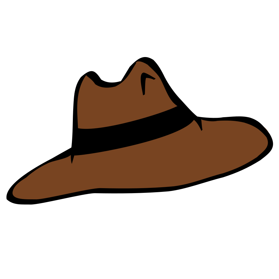 900x900 Cowboy Hat Clip Art Free Vector For Download About 6
