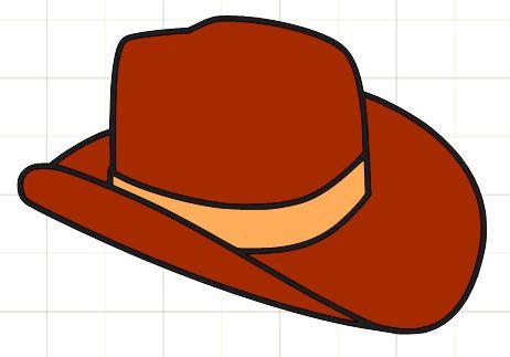 462x323 Cowboy Hat Clip Art Hatswboy Clipart Image 2