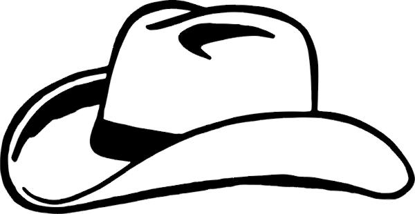 600x310 Hat Clipart Texas Cowboy