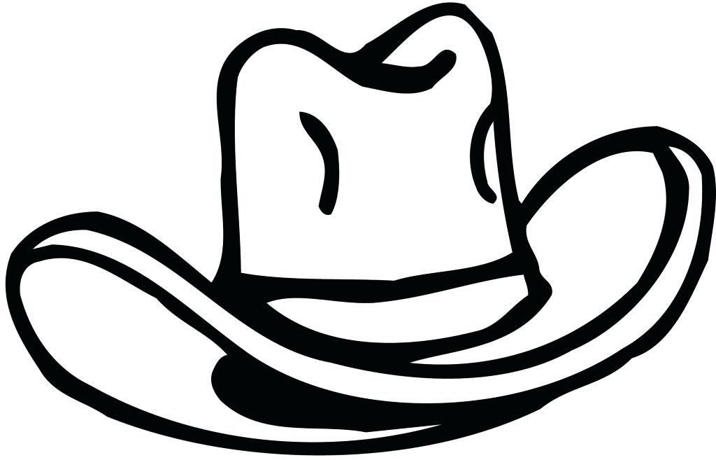 1024x657 Cowboy Hat Clipart How Draw A Cowboy Hat Cowboy Hat 7 How