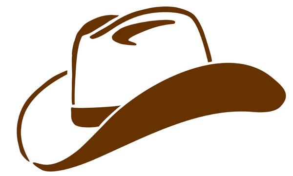 600x361 Cowboy Hat Clipart
