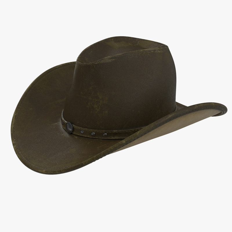 800x800 Searched 3d Models For Cowboy Hat.max