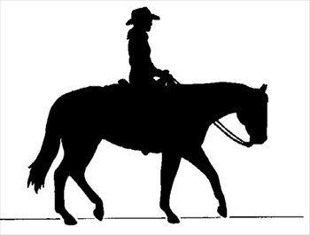 350x265 Horse Silhouette Clip Art