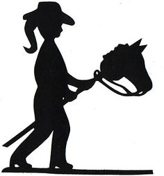 236x254 Cowboy Cowgirl Silhouette Clip Art