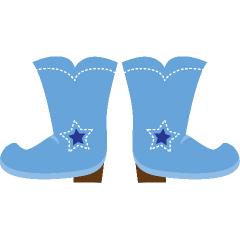 240x240 Boots Clipart Blue