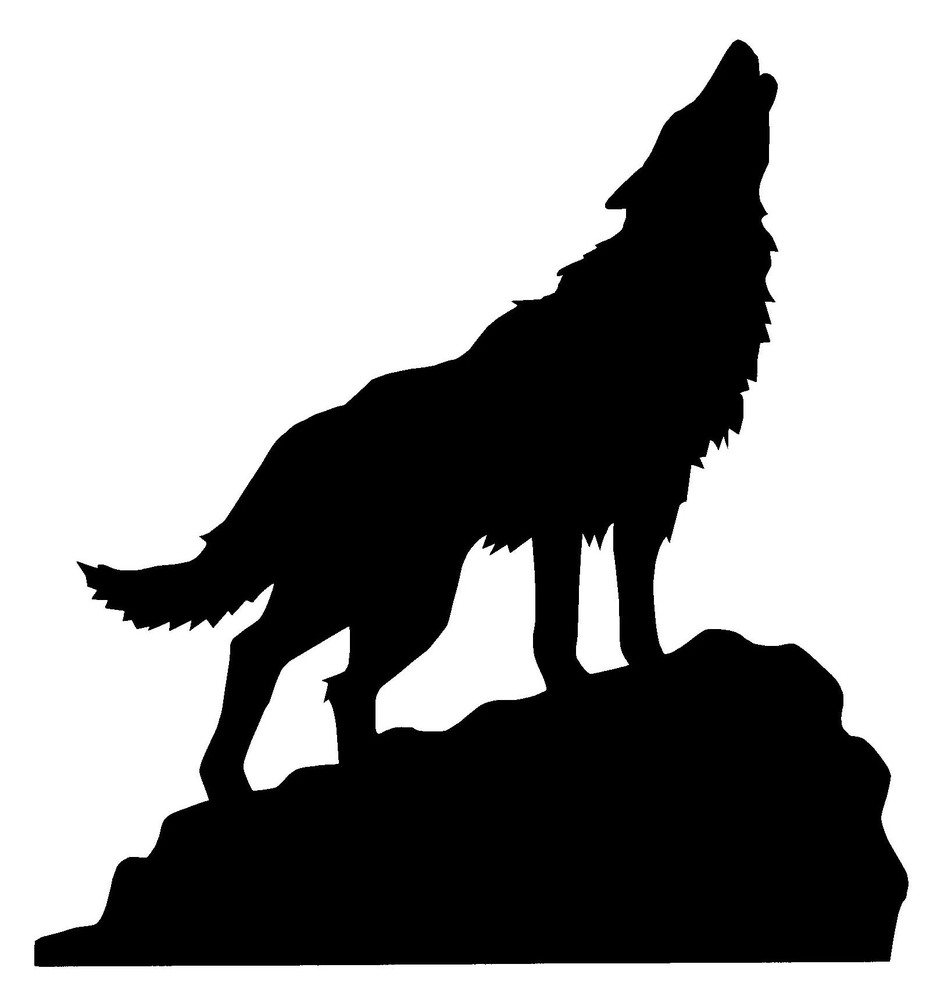 937x1000 Howling Coyote Clipart