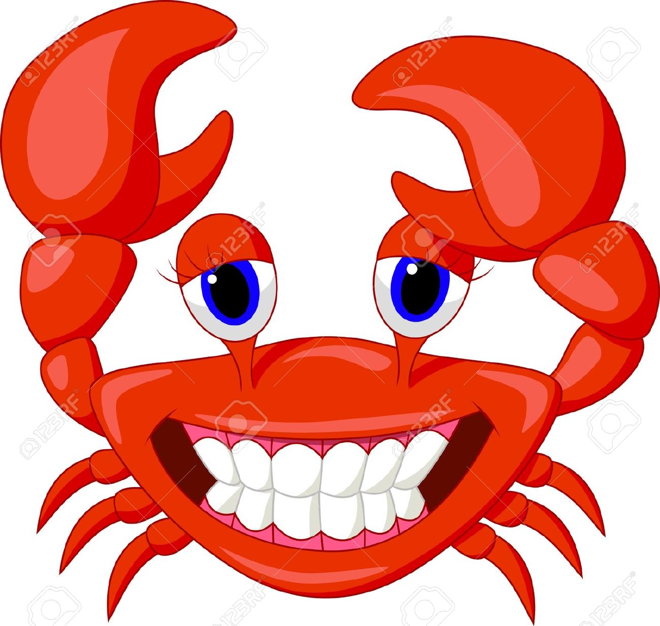 1300x1234 Crab Clip Art Cartoon Free Clipart Images 2 2