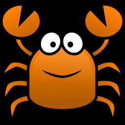 256x256 Crab Clipart Cartoon
