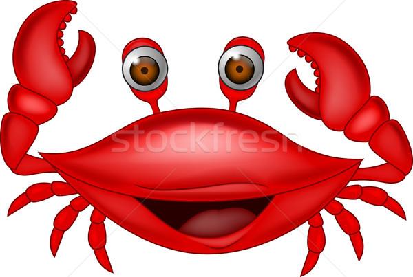 600x403 Funny Crab Cartoon Vector Illustration Teguh Mujiono (Tigatelu
