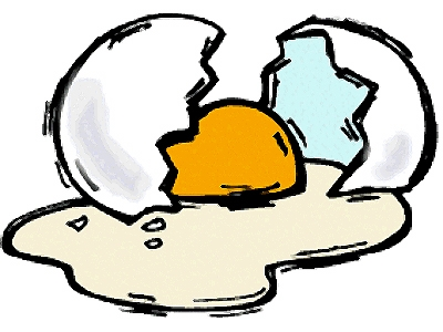 400x300 Cracked Egg Clipart Printable Page A Cracked Egg Picture