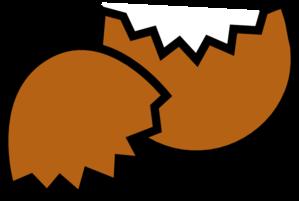 299x201 Brown Egg Shell Clip Art