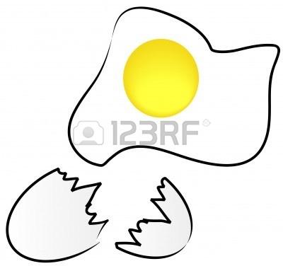 400x376 Egg Shells Clipart