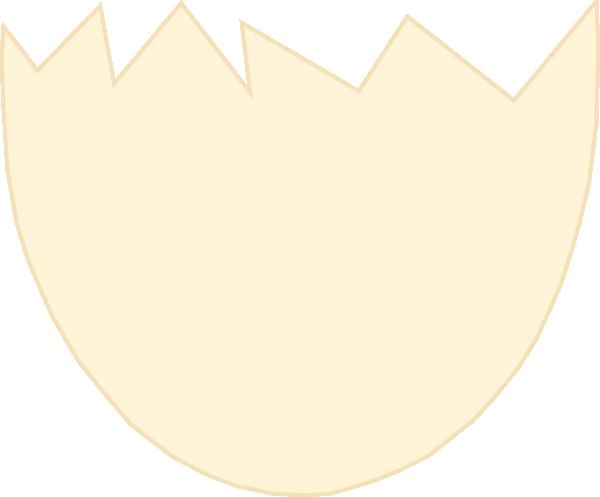 600x497 Shell Clipart Cracked Egg