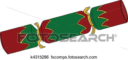 450x211 Christmas Cracker Clipart Illustrations. 1,913 Christmas Cracker