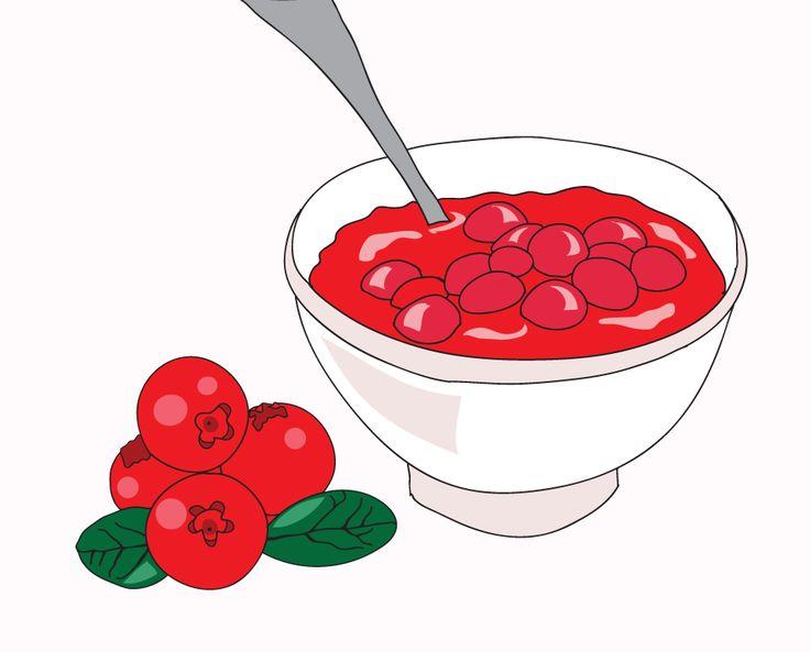 736x593 Cranberry Clipart Cranberry Sauce