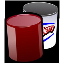 256x256 Cranberry Clipart Cranberry Sauce