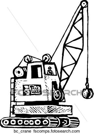 329x470 Clipart Of Crane Operator Bc Crane