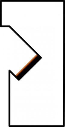 216x425 Sign Overhead Crane Clip Art Free Vector 4vector