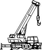 145x170 Crane Clip Art