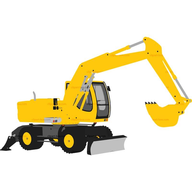 800x800 Crane Clipart Excavator