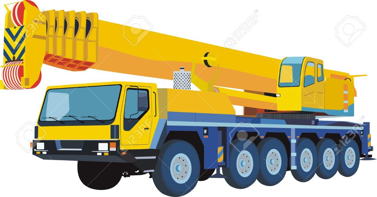 1300x681 Crane Clipart Mobile Crane
