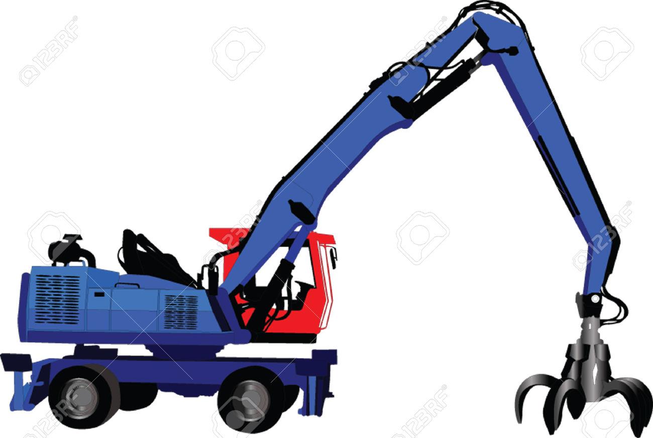 1300x872 Crane Clipart Vehicle Loading