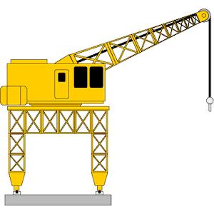300x300 Dockyard Crane Clipart, Cliparts Of Dockyard Crane Free Download