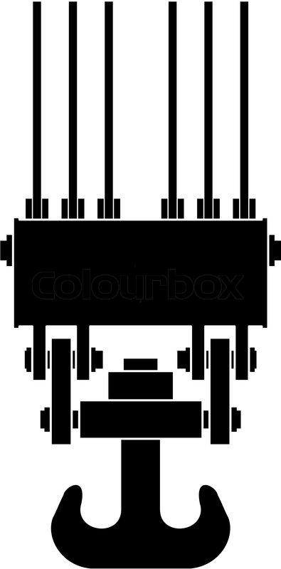 395x800 Hoist Crane Clip Art Cliparts
