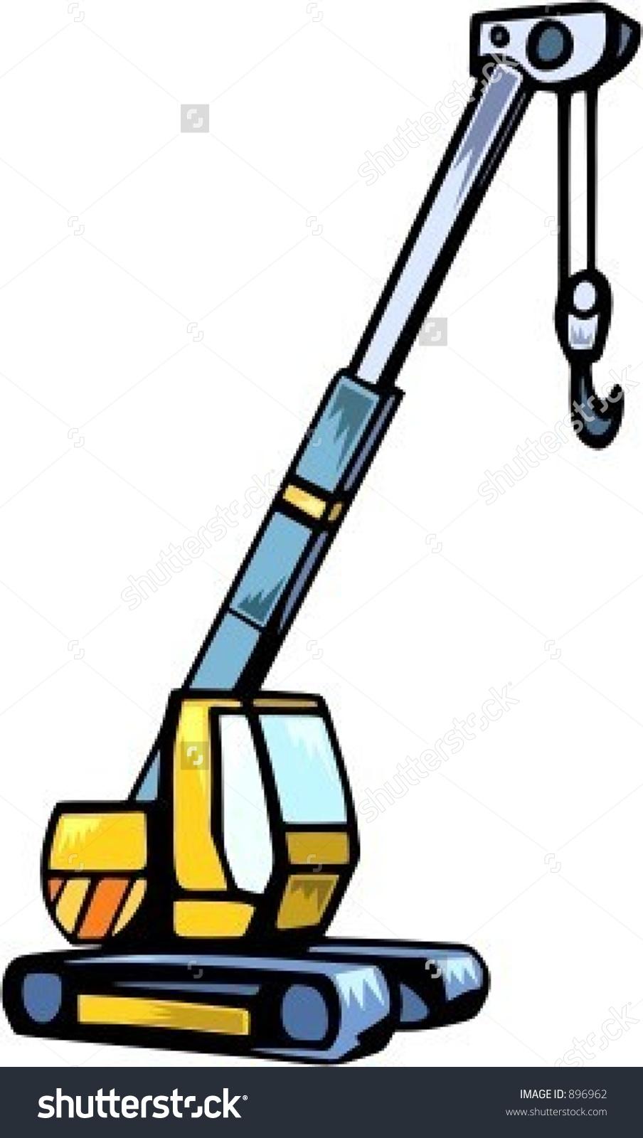 904x1600 Truck Crane Clipart