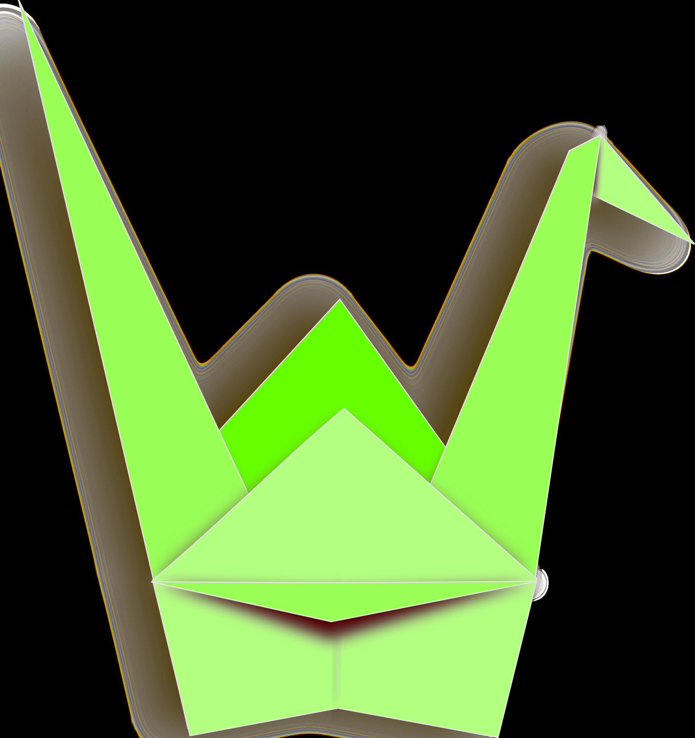 2260x2400 Clipart Paper Crane
