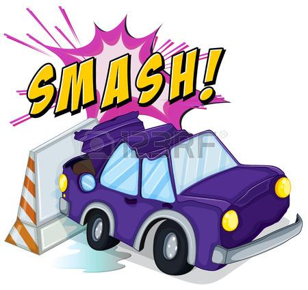 Crashed Car Cliparts