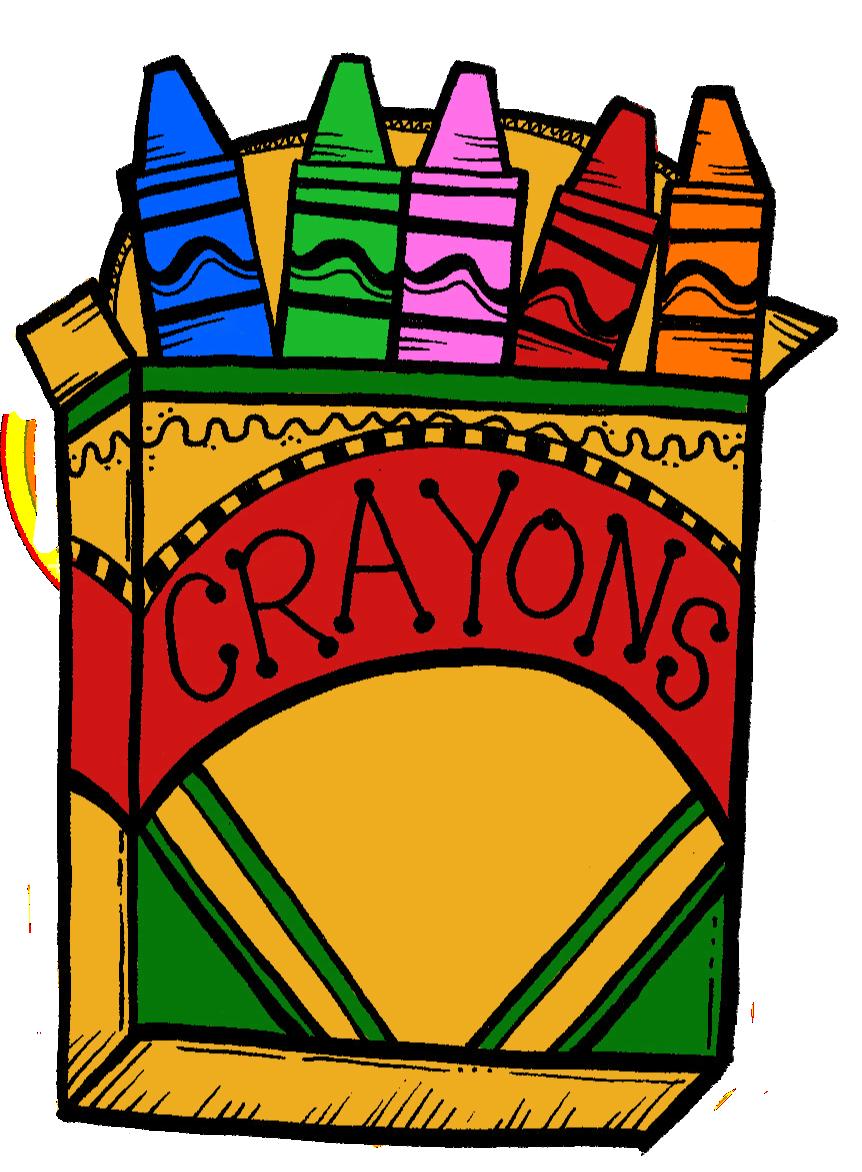 862x1172 Best Crayon Box Clip Art