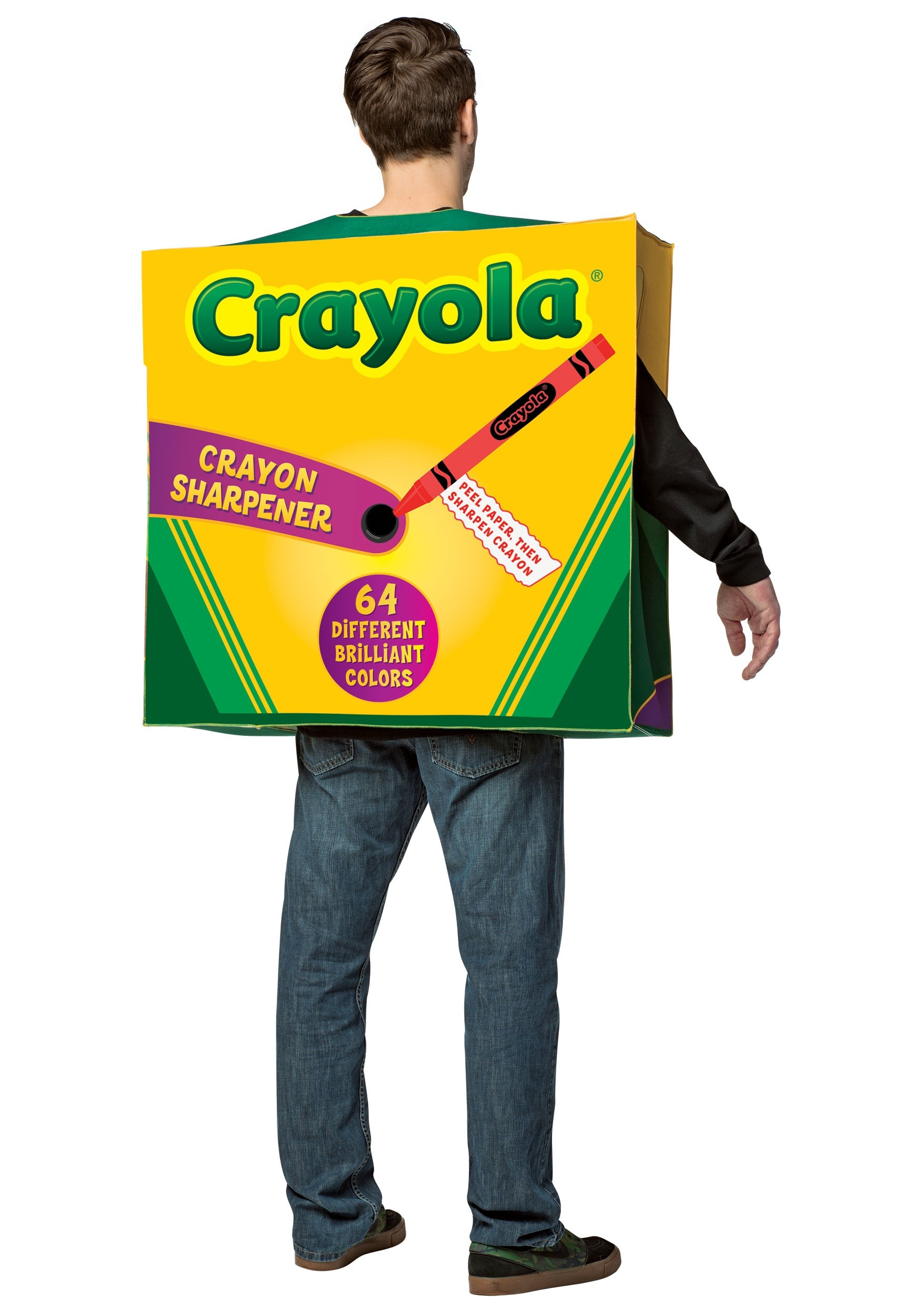 1750x2500 Crayola 64 Piece Crayon Box Costume For Adults