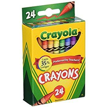 350x350 Crayola Box Of Crayons Non Toxic Color Coloring