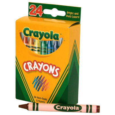 400x400 Crayola Crayons Box Clipart Panda