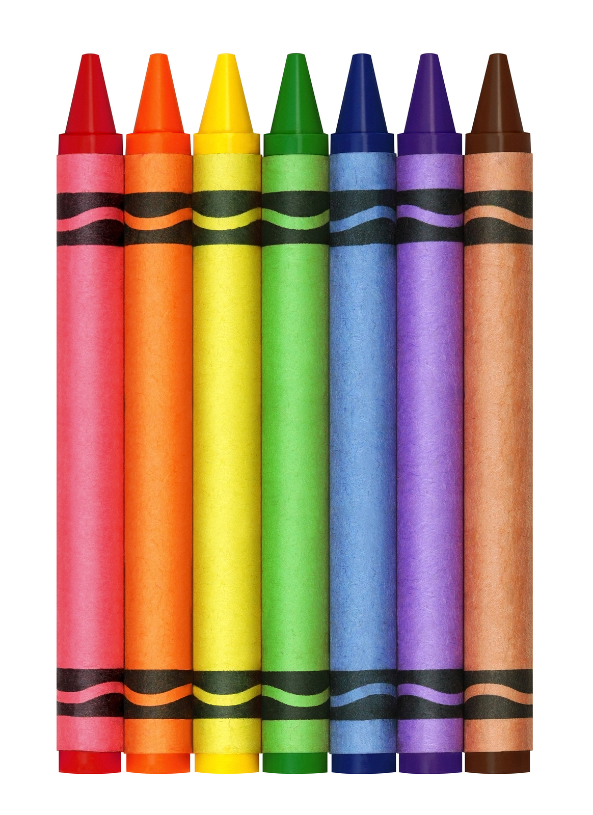 1164x1600 Crayons Clipart