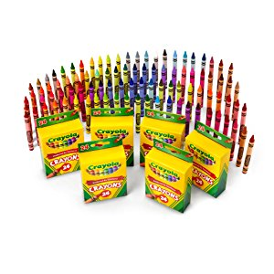 300x300 Crayola 24 Count Crayons (6 Pack) Toys Amp Games