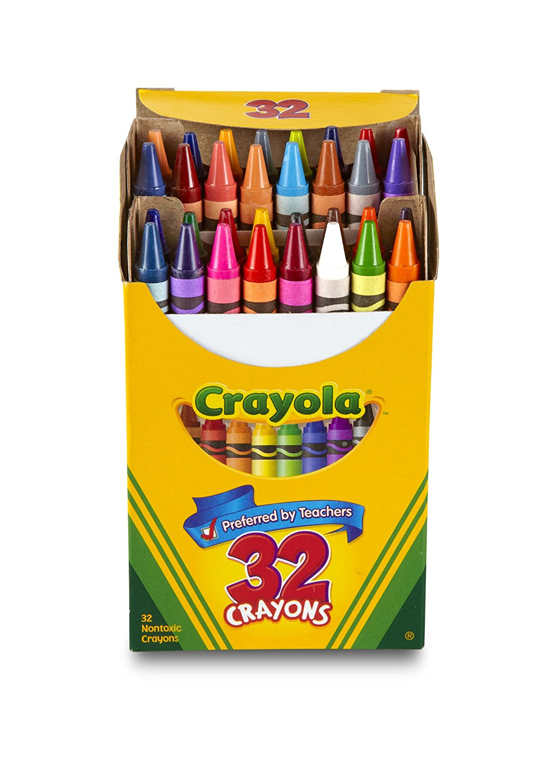 1104x1500 Crayola 32 Count Crayons Tuck Box Toys Amp Games