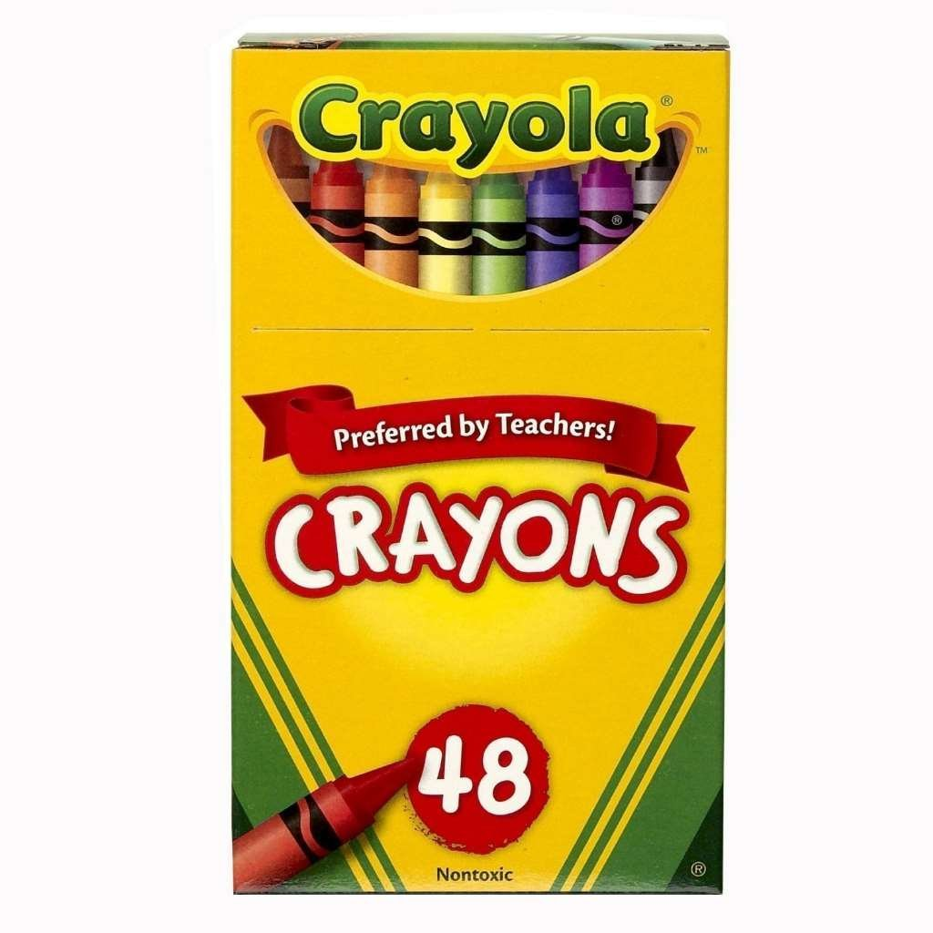 1024x1024 Crayola Crayons 48 Pieces In A Jumbo Box (Pack Of 6