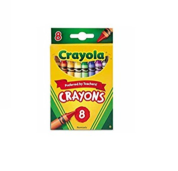 355x342 Crayola Crayons 8 In A Box (Pack Of 12) 96 Crayons