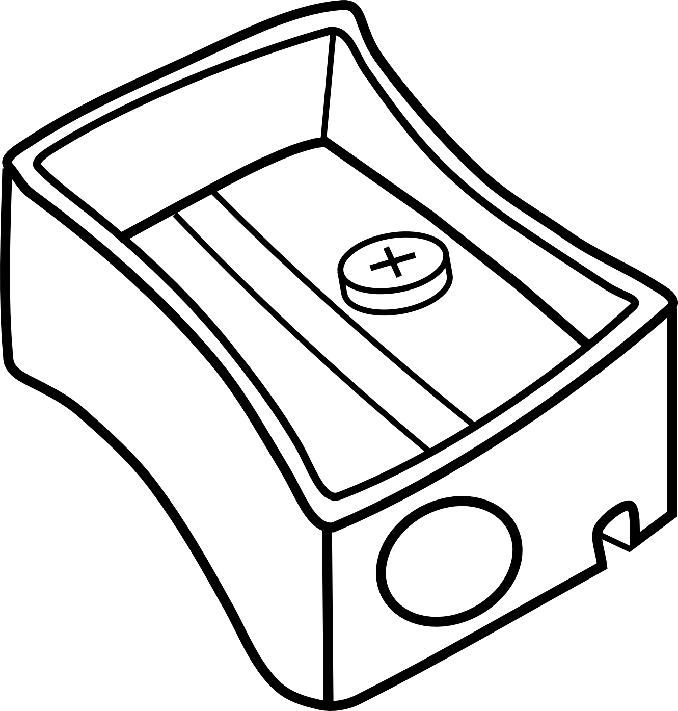 1331x1395 Pencil Clipart Black And White Clipart Panda