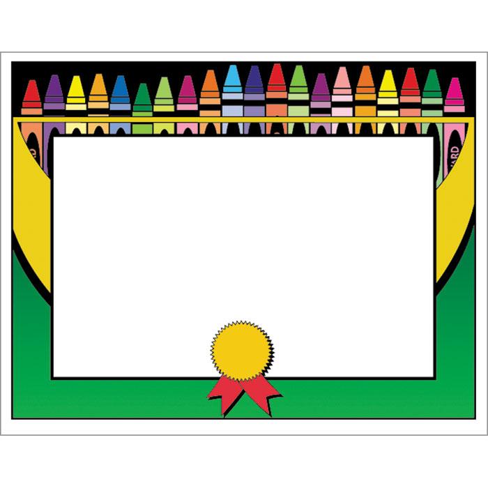 700x700 Crayon Border Clipart