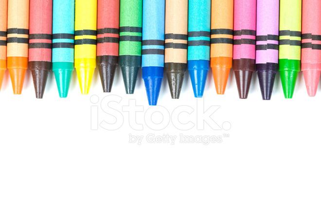 660x440 Crayon Border Stock Photos