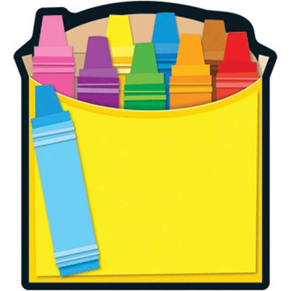 600x600 Crayon Box Notepad Clipart Panda