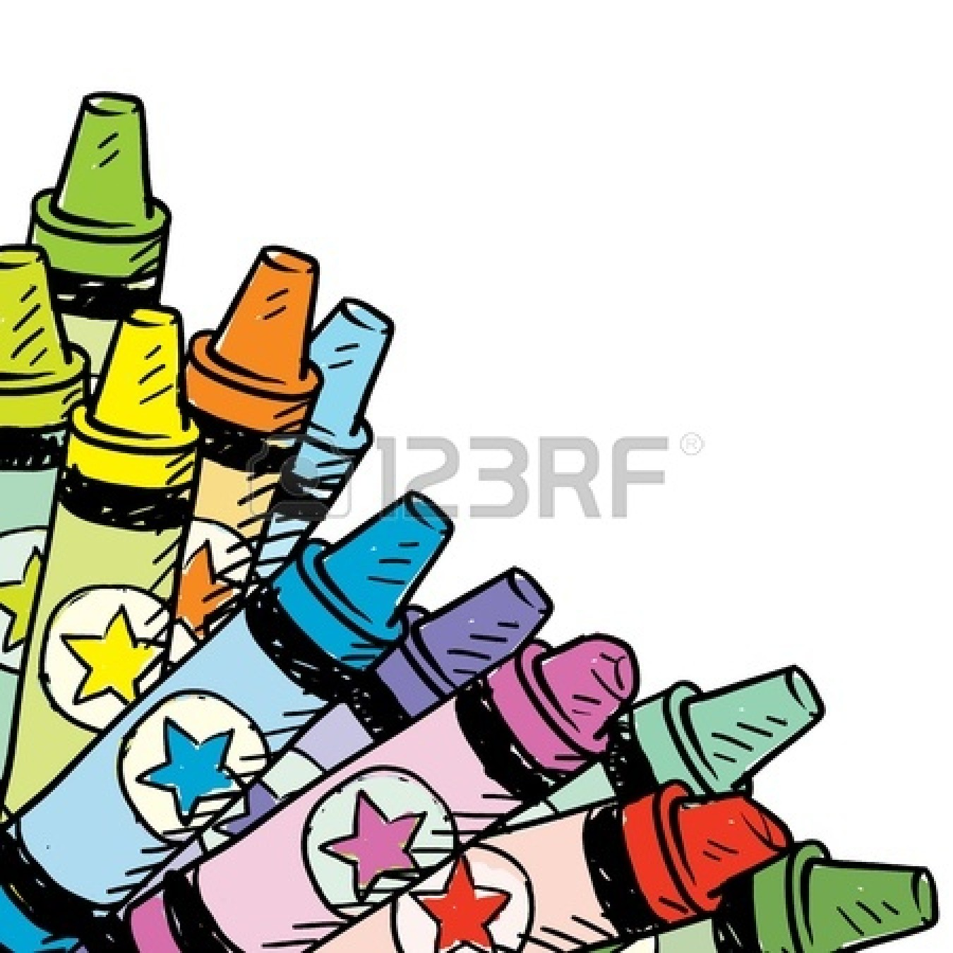 1350x1350 Crayon Clipart Cup